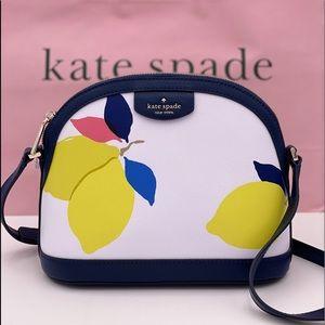 Kate Spade-Sylvia LemonZest Dome Crossbody